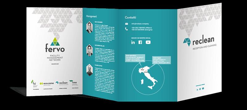 Mockup brochure reclean
